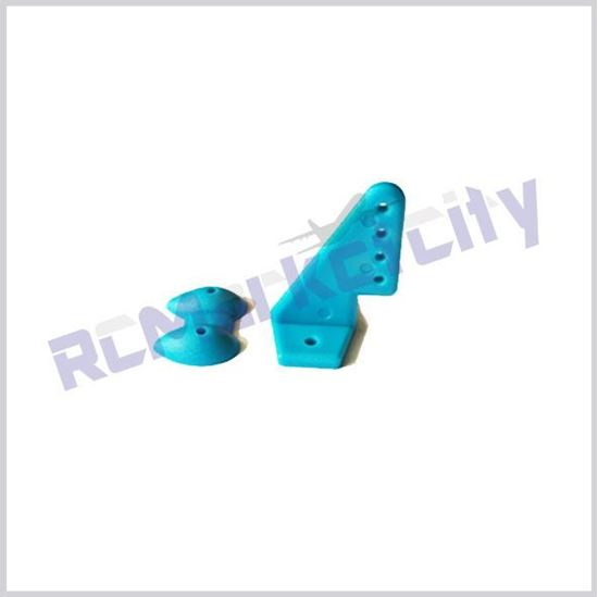 Picture of 20x27mm Control Horn Blue