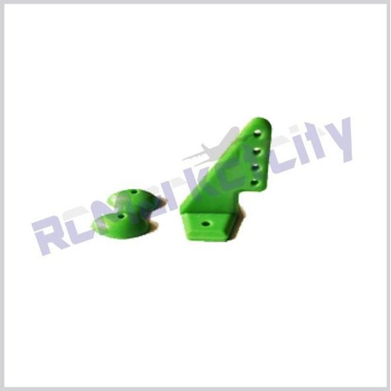 Picture of 20x27mm Control Horn Green