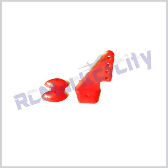 Picture of 20x27mm Control horn Red