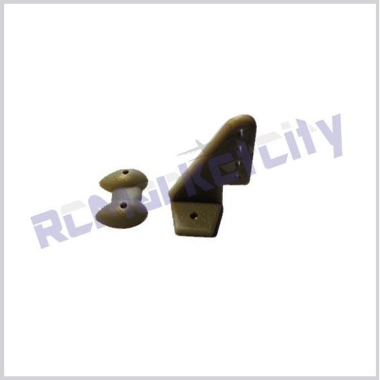 Picture of 20x27mm Control Horn Grey
