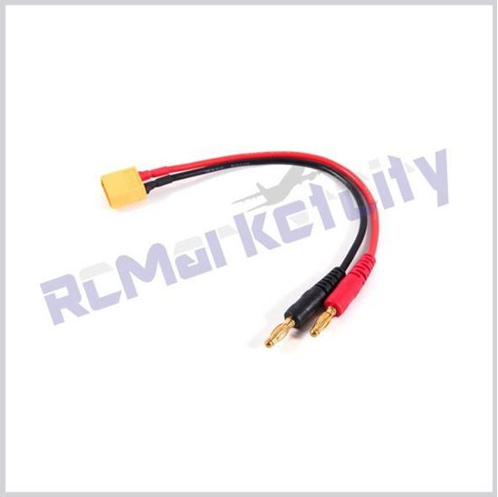 Picture of XT60 to 4mm banana connector