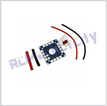 Picture of PDB with T plug & wire