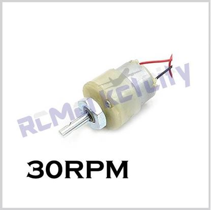 Picture of 30RPM geared motor