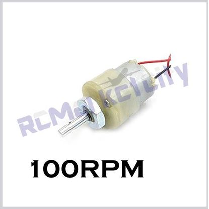 Picture of 100RPM geared motor