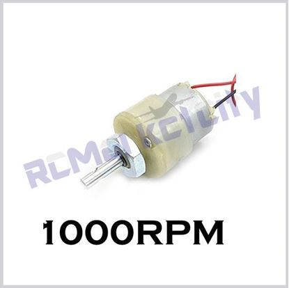 Picture of 1000RPM geared motor